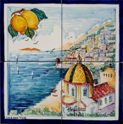 View of Positano and Lemons Landscape