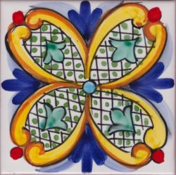 Accent Tile Positano 4 Italy Custom Tile Art Ceramic