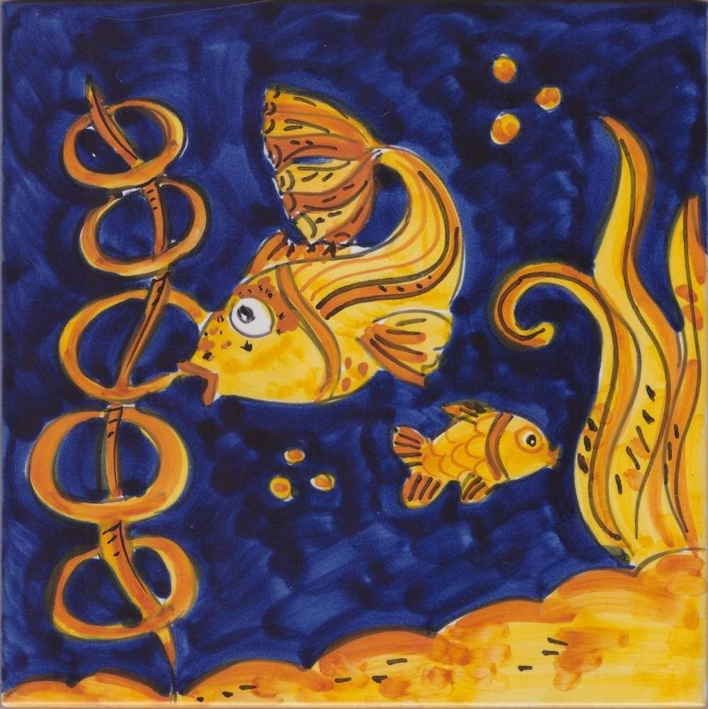 Tile Art Ceramic Ocean 3 Custom Accent Tile